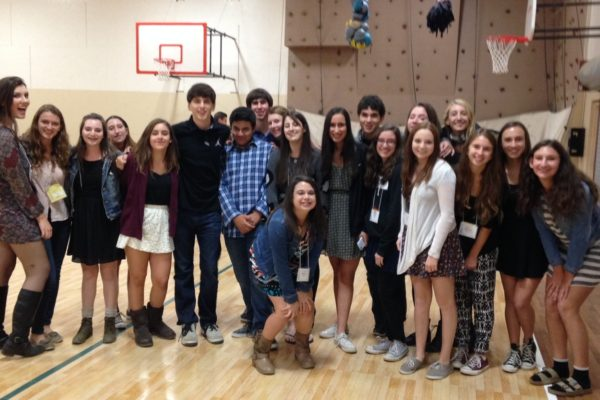 Some of our BITY teens at Fall Kallah up at Camp Stein in 2014!