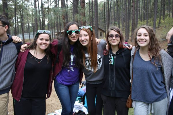 Saying goodbye to our NFTY-Southwest friends at the final friendship circle for Fall Kallah