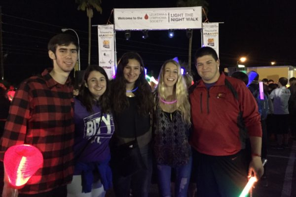 BITY Seniors at Light the Night Walk for the Leukemia and Lymphoma Society