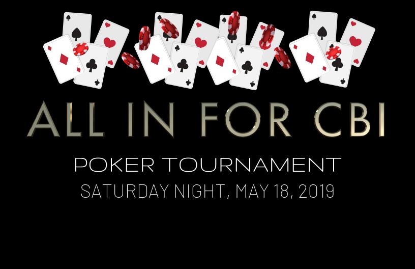 All In For CBI Poker Tournament