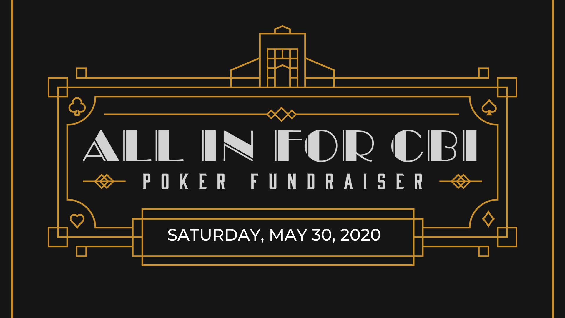 All In For CBI Poker Fundraiser