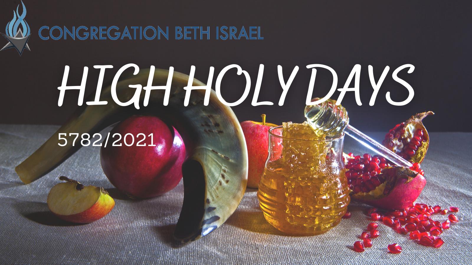 High Holy Days 5782