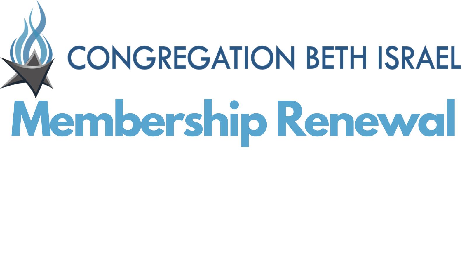 Membership renewal